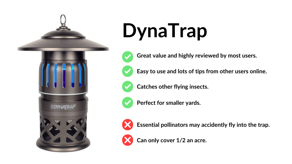 dynatrap CO2 mosquito trap review