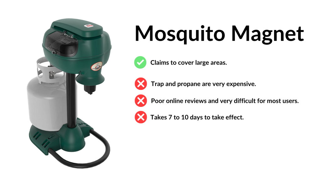 mosquito magnet MM3300B propane mosquito trap review