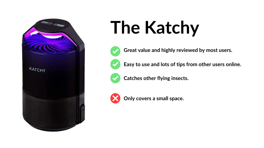 katchy indoor mosquito trap review